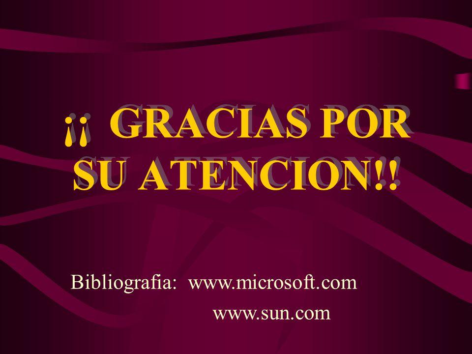 ¡¡ GRACIAS POR SU ATENCION!!
