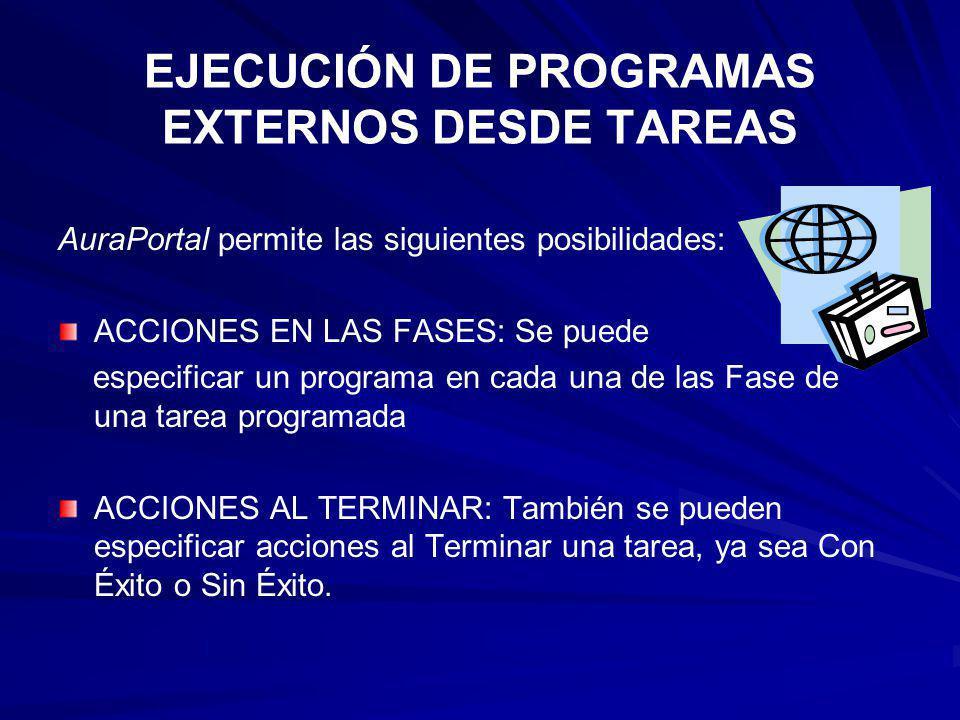 EJECUCIÓN DE PROGRAMAS EXTERNOS DESDE TAREAS