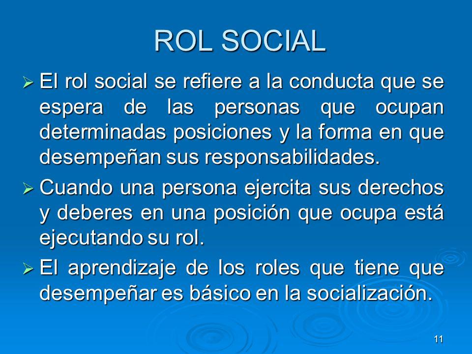ROL SOCIAL