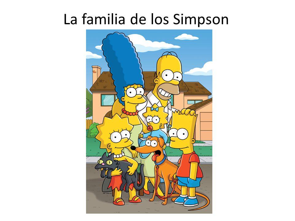 La familia de los Simpson