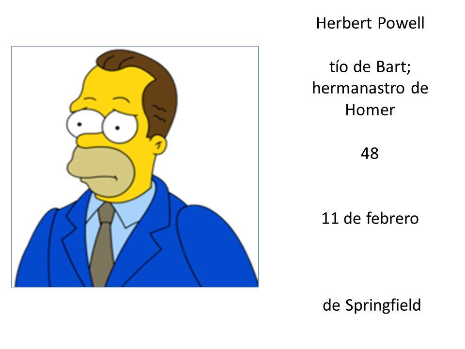 tío de Bart; hermanastro de Homer