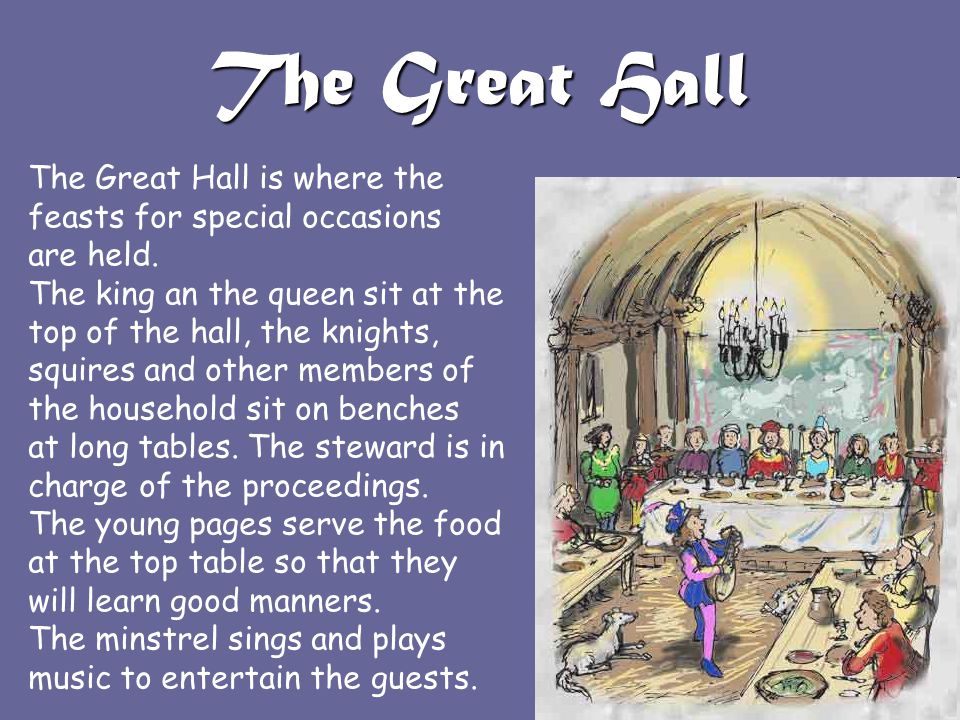 The Great Hall The Great Hall is where the
