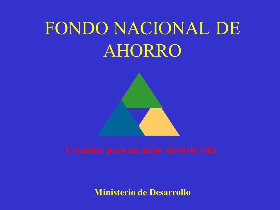 FONDO NACIONAL DE AHORRO