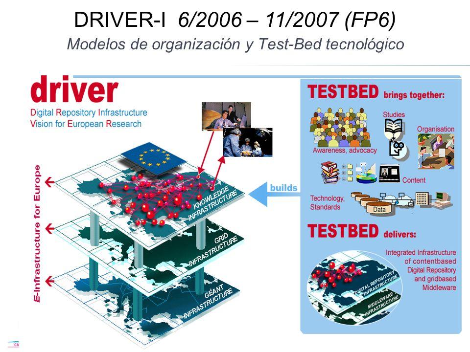 Modelos de organización y Test-Bed tecnológico