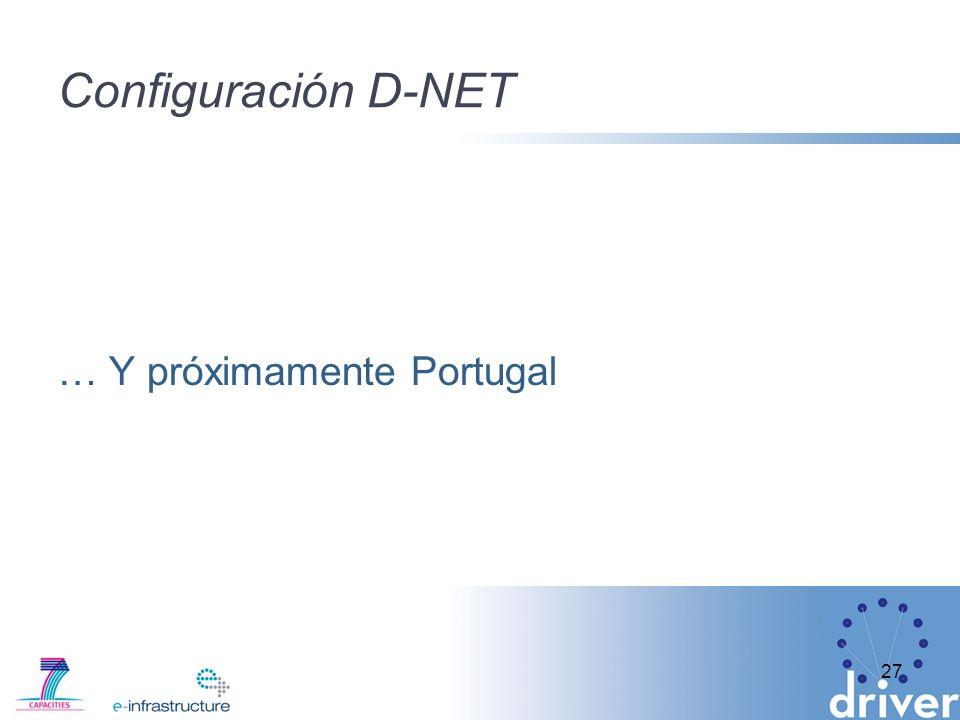 Configuración D-NET … Y próximamente Portugal