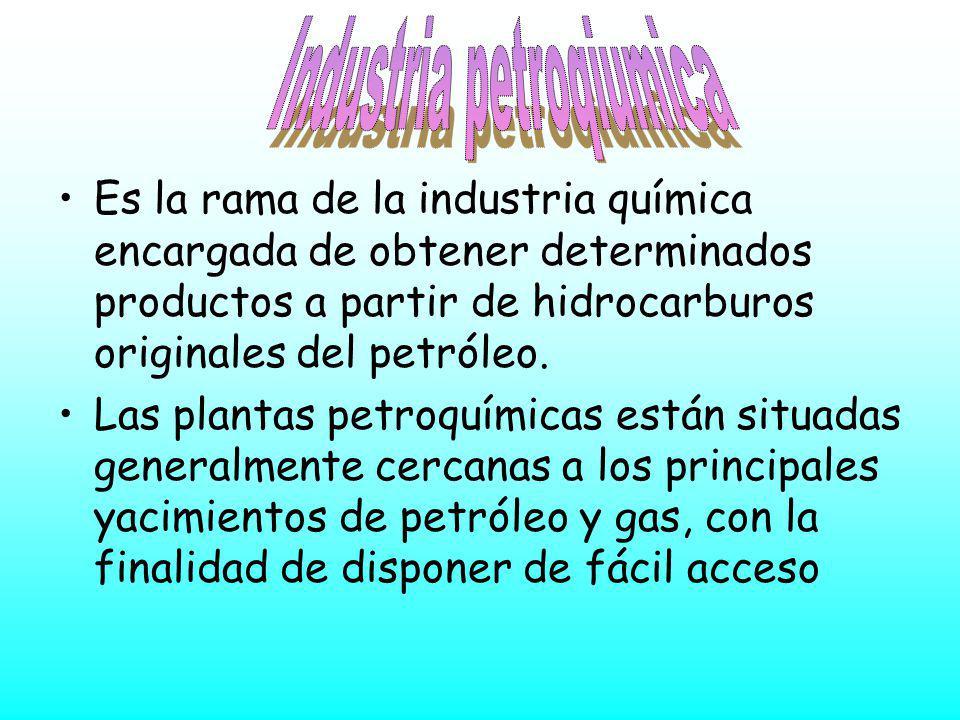Industria petroqiumica