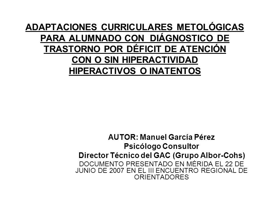 AUTOR: Manuel García Pérez