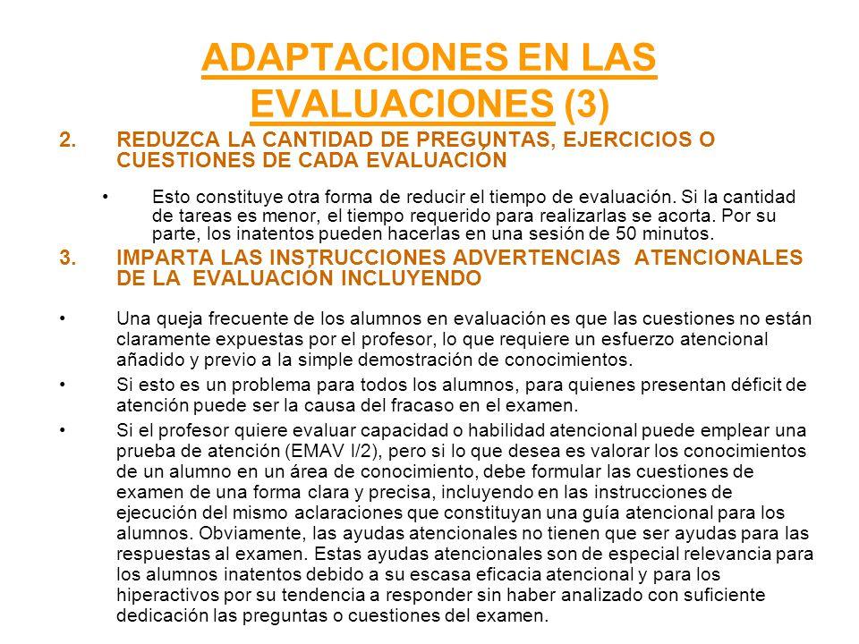 ADAPTACIONES EN LAS EVALUACIONES (3)