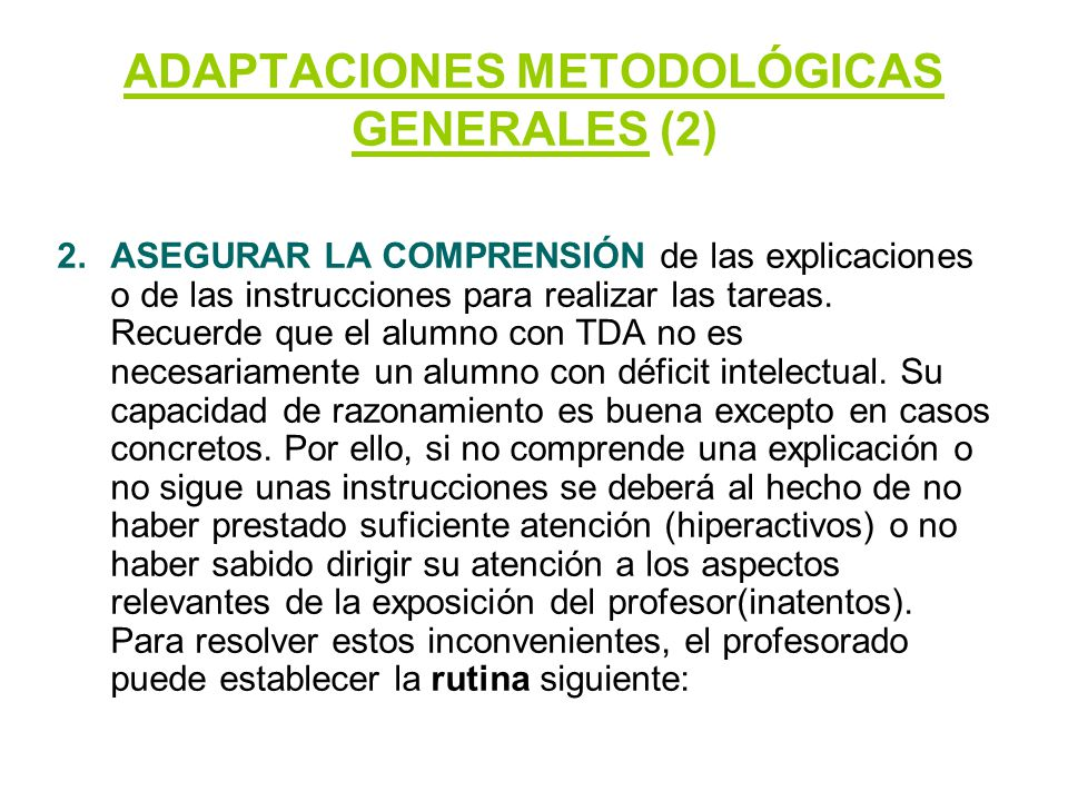 ADAPTACIONES METODOLÓGICAS GENERALES (2)