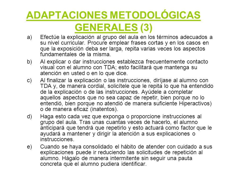 ADAPTACIONES METODOLÓGICAS GENERALES (3)