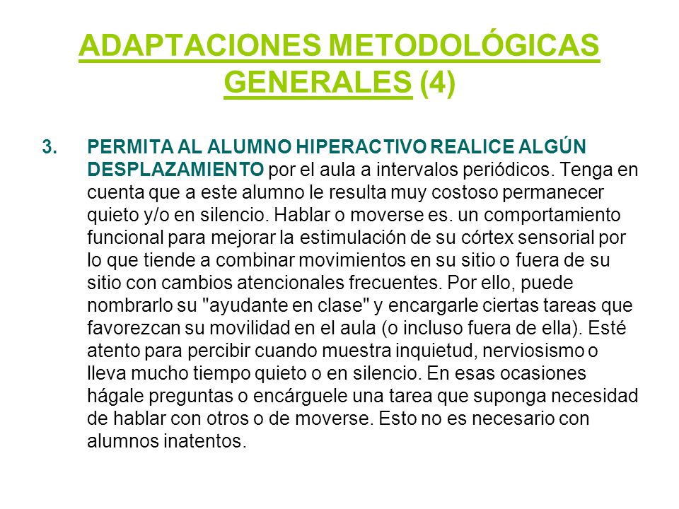 ADAPTACIONES METODOLÓGICAS GENERALES (4)