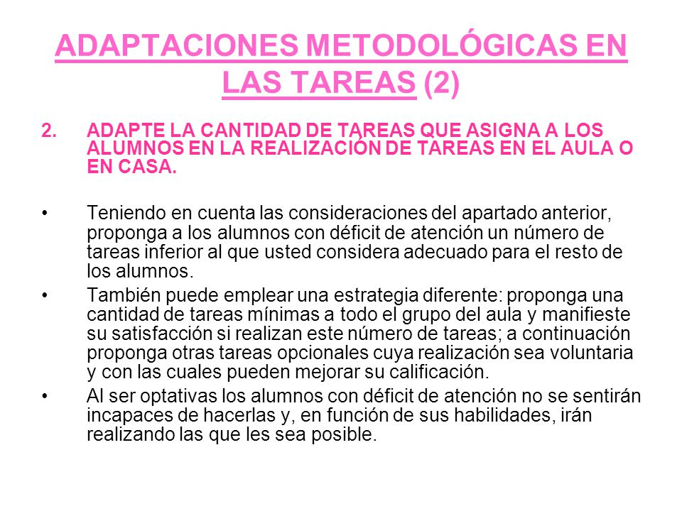 ADAPTACIONES METODOLÓGICAS EN LAS TAREAS (2)
