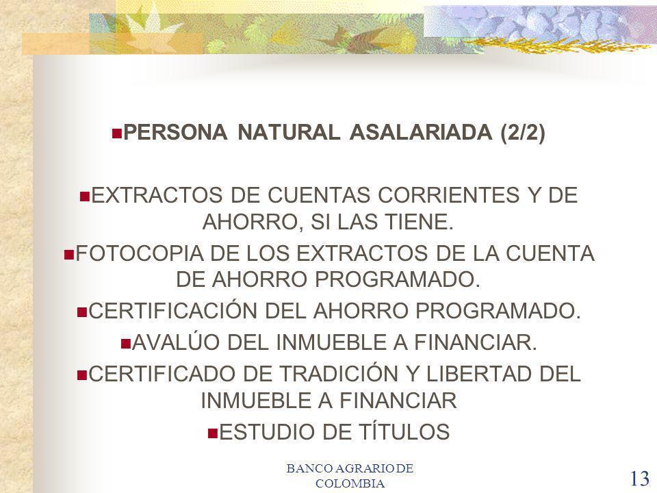 PERSONA NATURAL ASALARIADA (2/2)