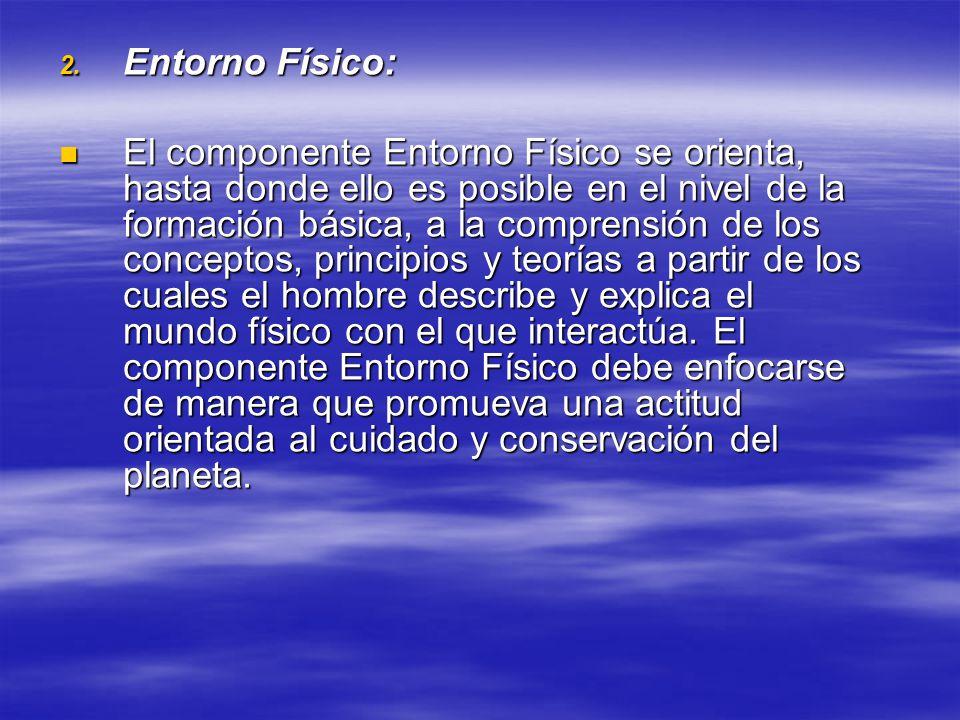 Entorno Físico: