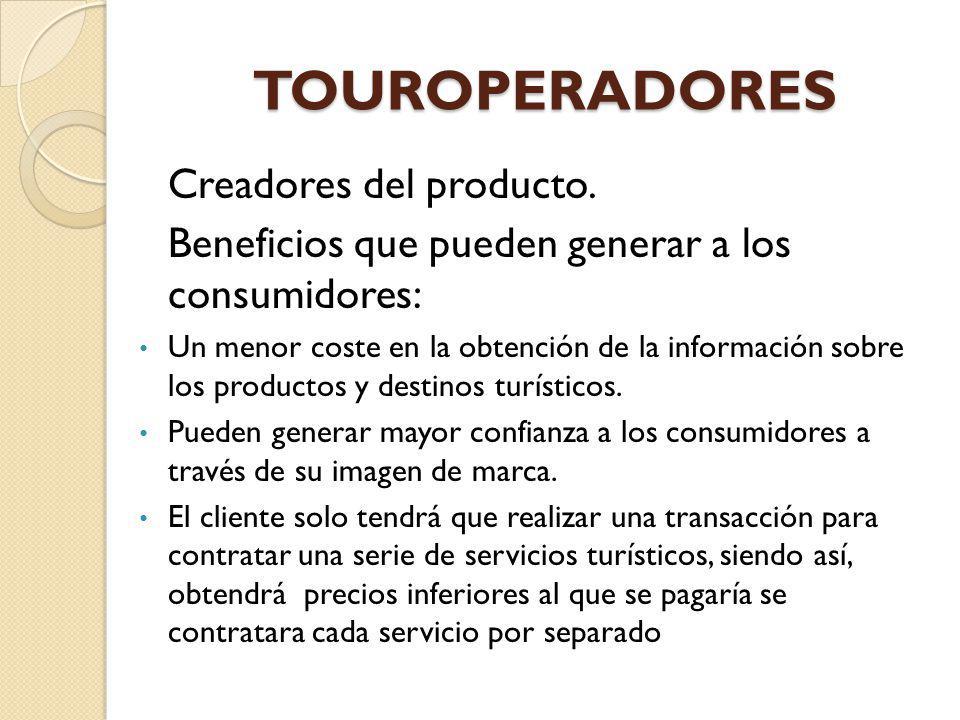 TOUROPERADORES Creadores del producto.
