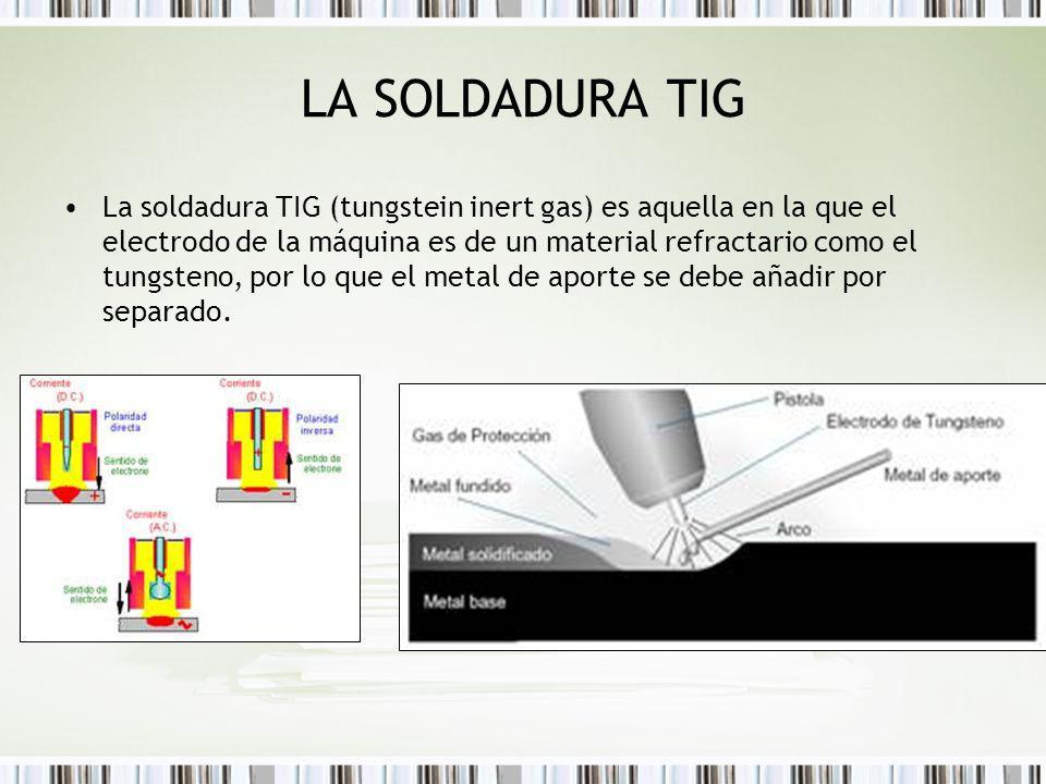 LA SOLDADURA TIG