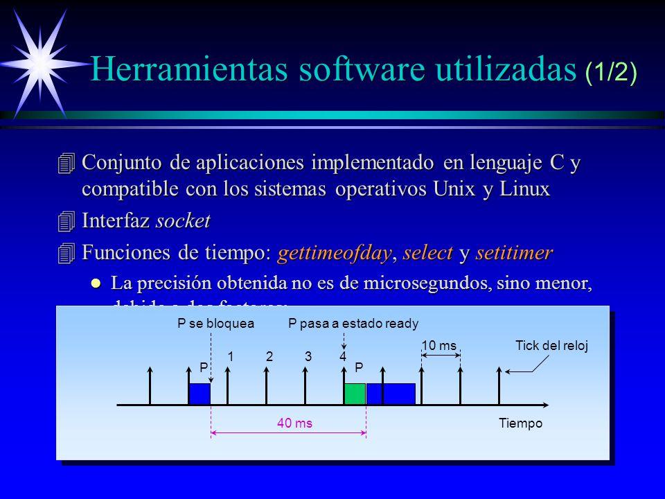 Herramientas software utilizadas (1/2)