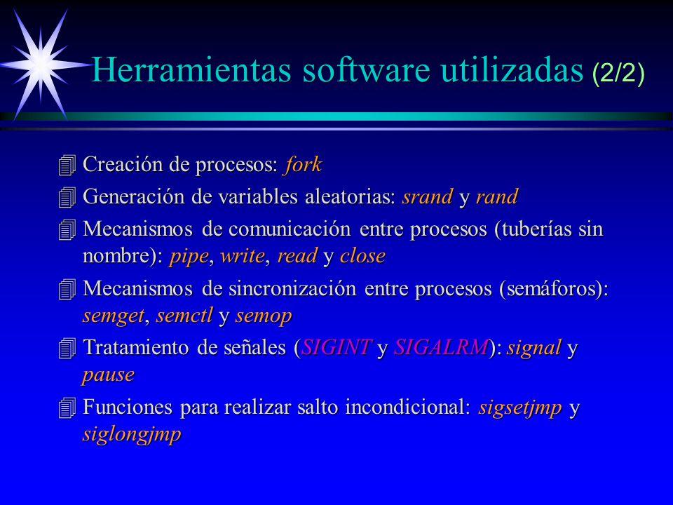 Herramientas software utilizadas (2/2)