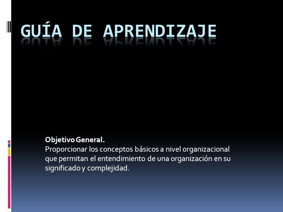 Guía de aprendizaje Objetivo General.
