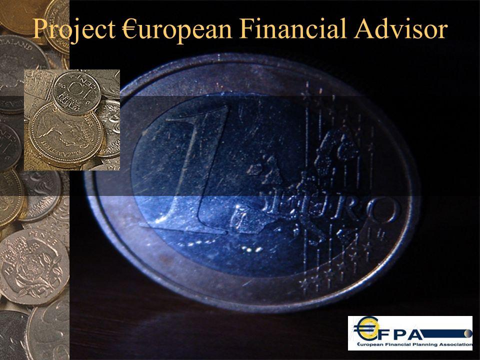 Project €uropean Financial Advisor
