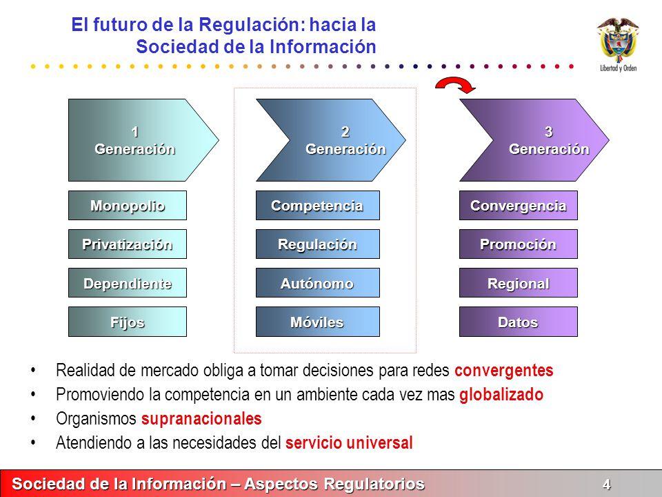 El futuro de la Regulación: hacia la Sociedad de la Información