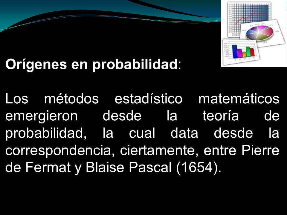 Orígenes en probabilidad: