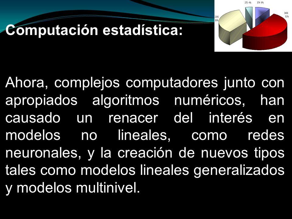 Computación estadística: