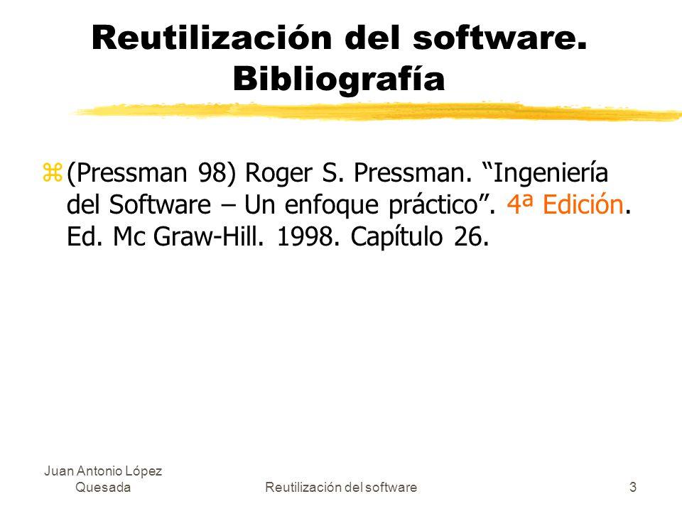 Reutilización del software. Bibliografía