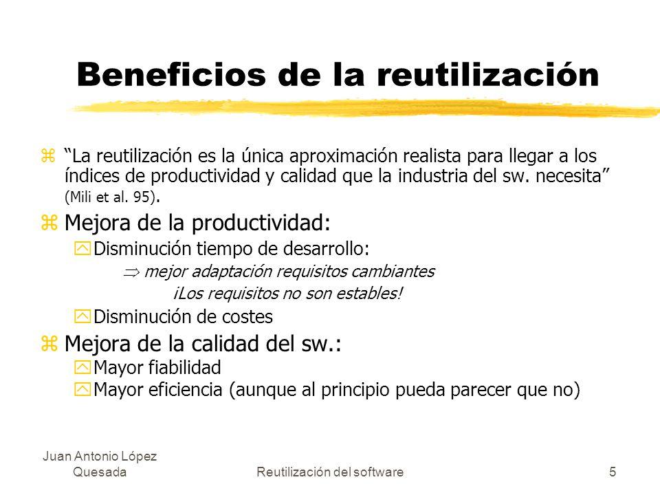 Beneficios de la reutilización