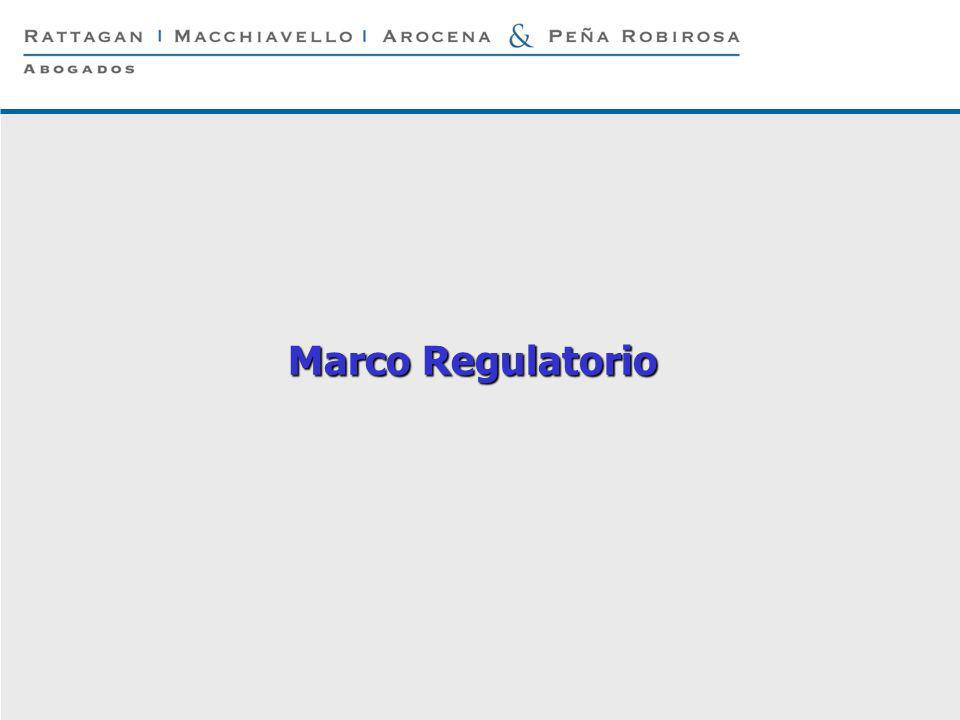 Marco Regulatorio