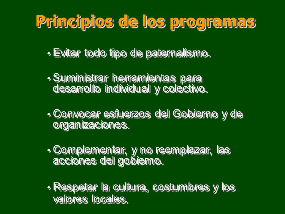 Principios de los programas