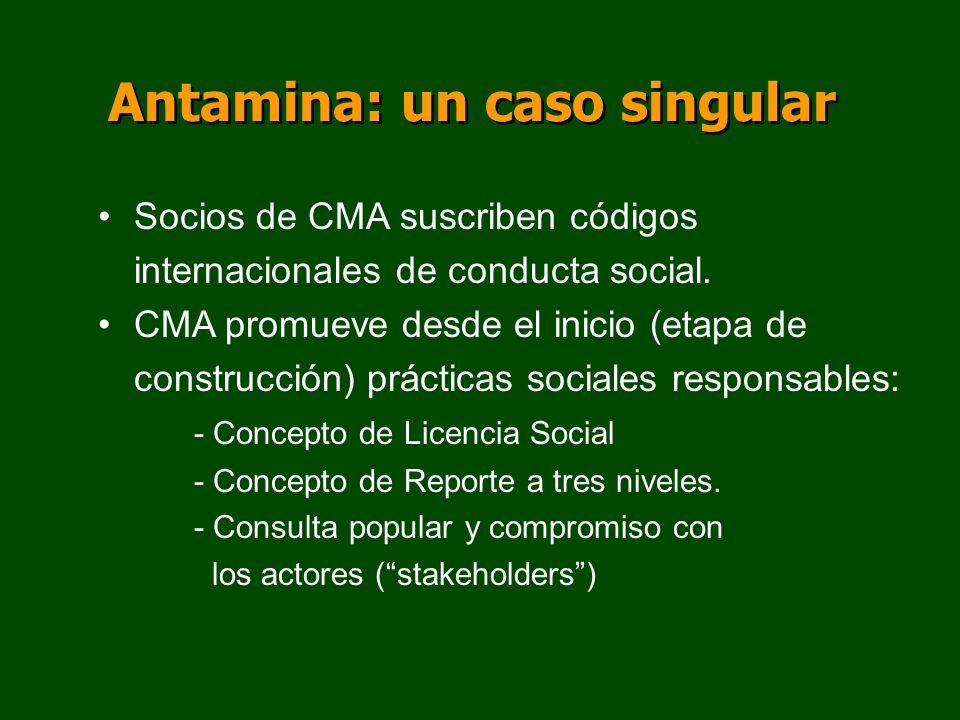 Antamina: un caso singular