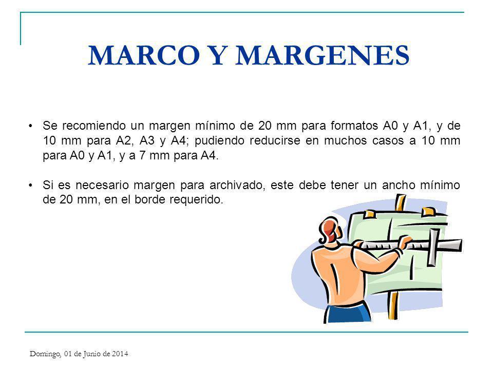 MARCO Y MARGENES
