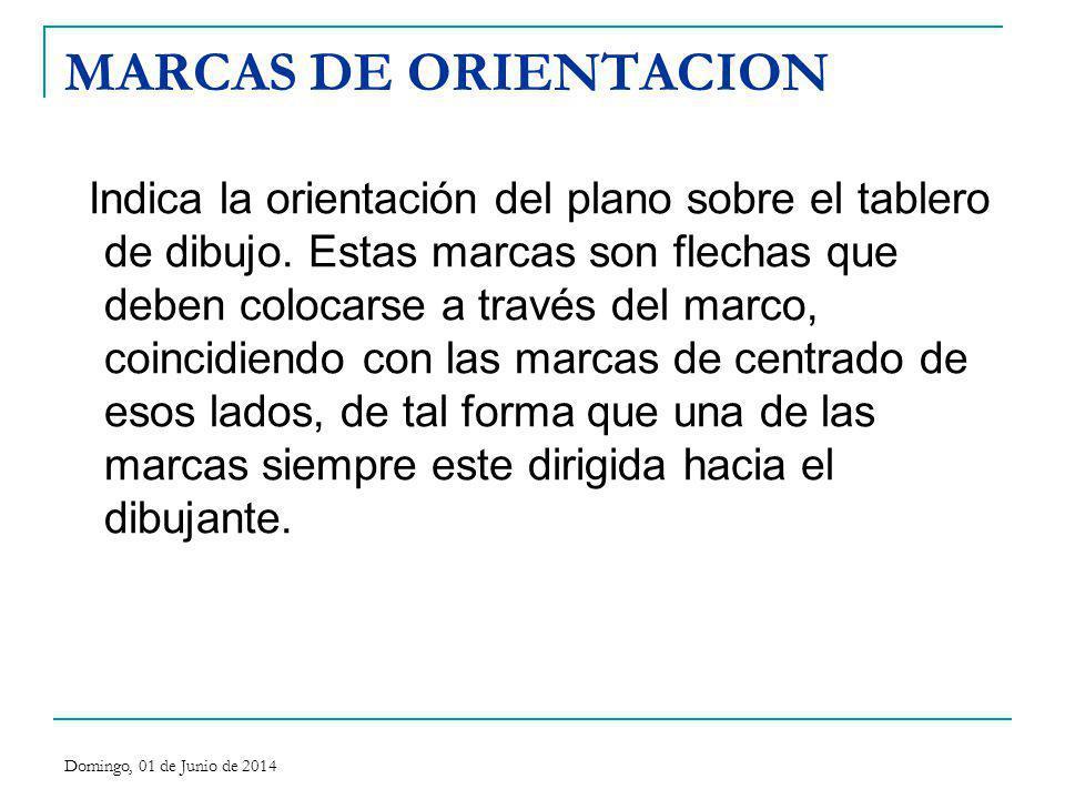 MARCAS DE ORIENTACION