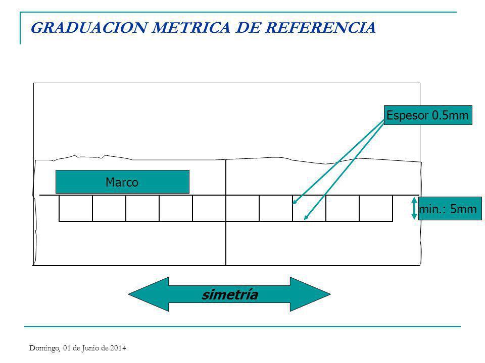 GRADUACION METRICA DE REFERENCIA