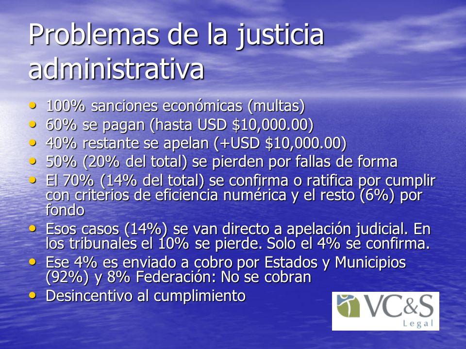 Problemas de la justicia administrativa