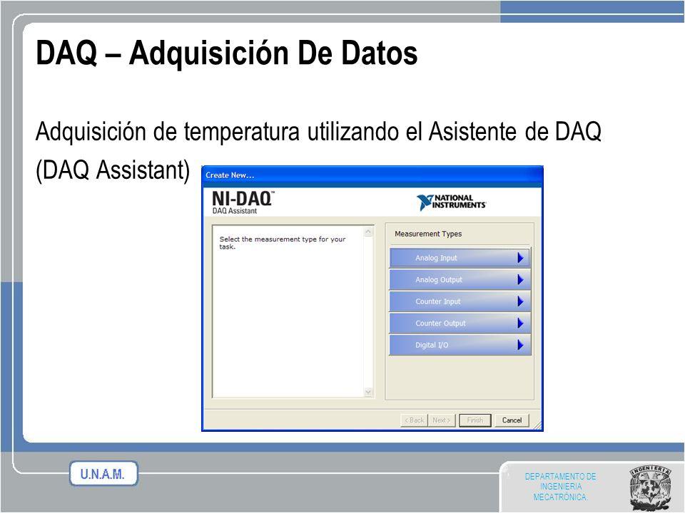 DAQ – Adquisición De Datos