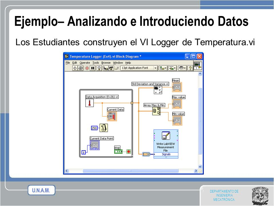Ejemplo– Analizando e Introduciendo Datos