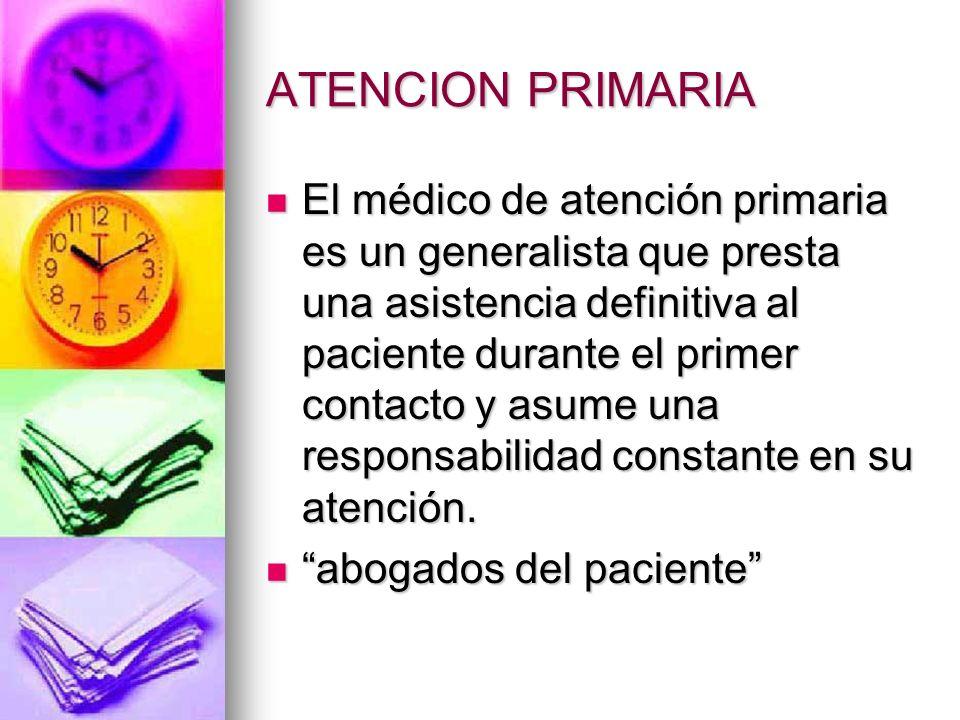 ATENCION PRIMARIA