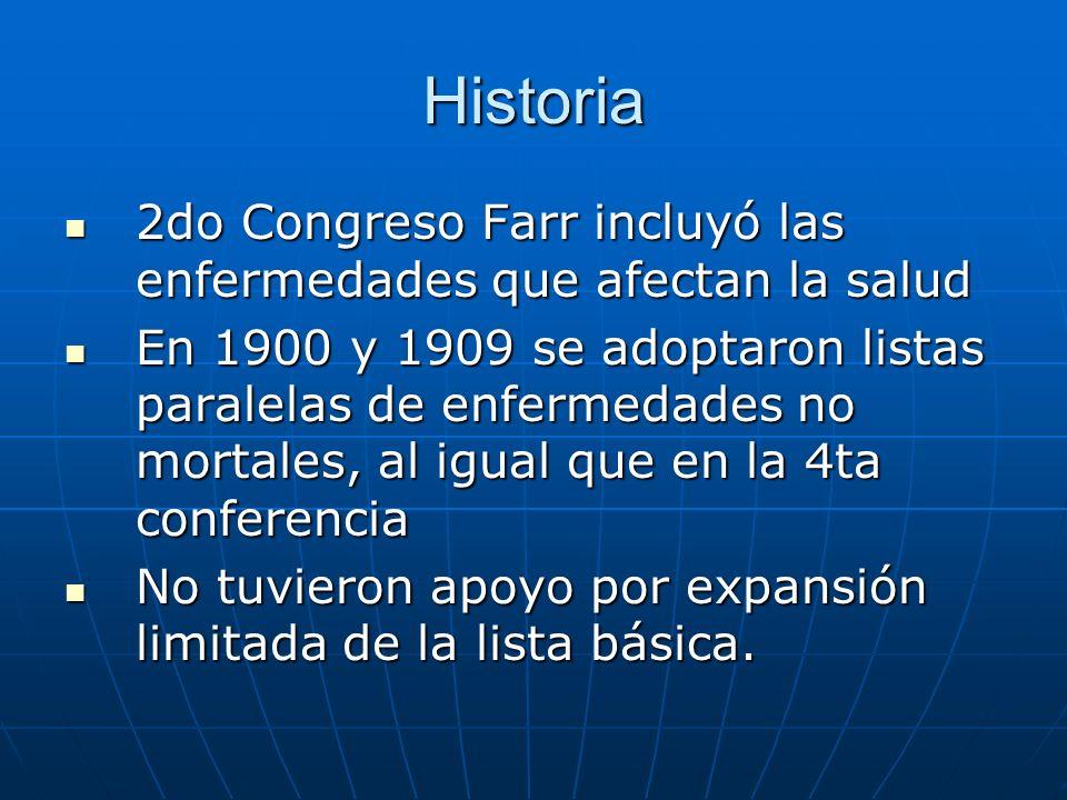 Historia 2do Congreso Farr incluyó las enfermedades que afectan la salud.