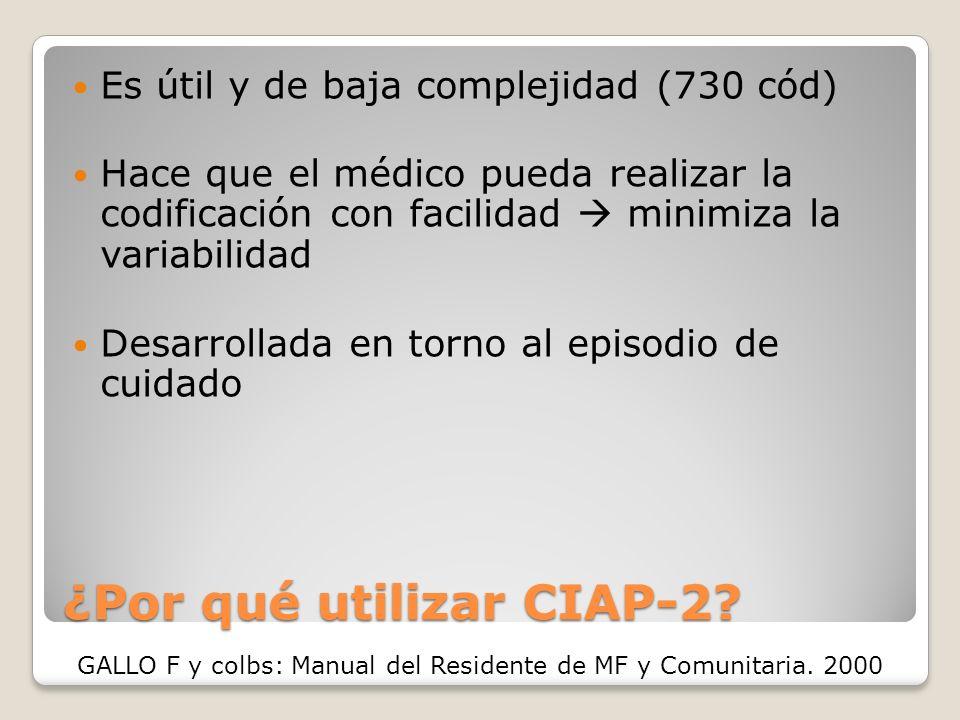 ¿Por qué utilizar CIAP-2