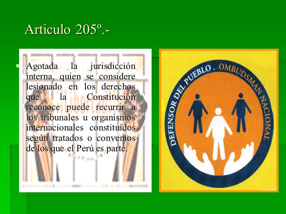 Articulo 205º.-