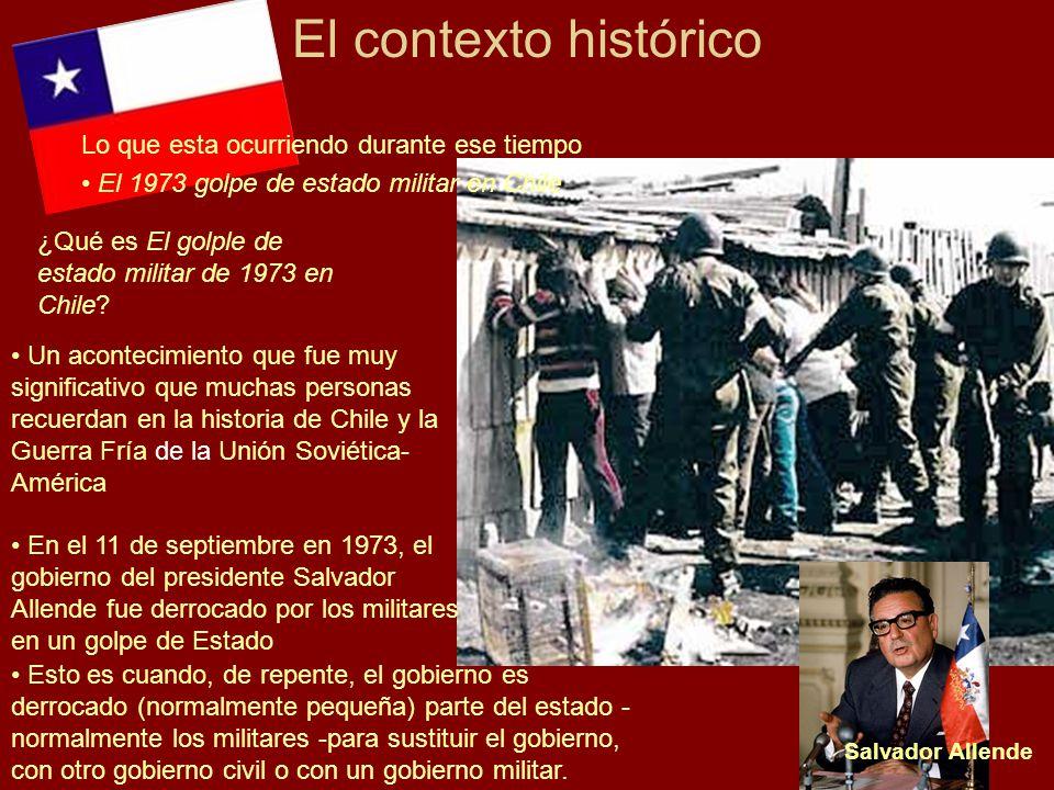 El contexto histórico Lo que esta ocurriendo durante ese tiempo
