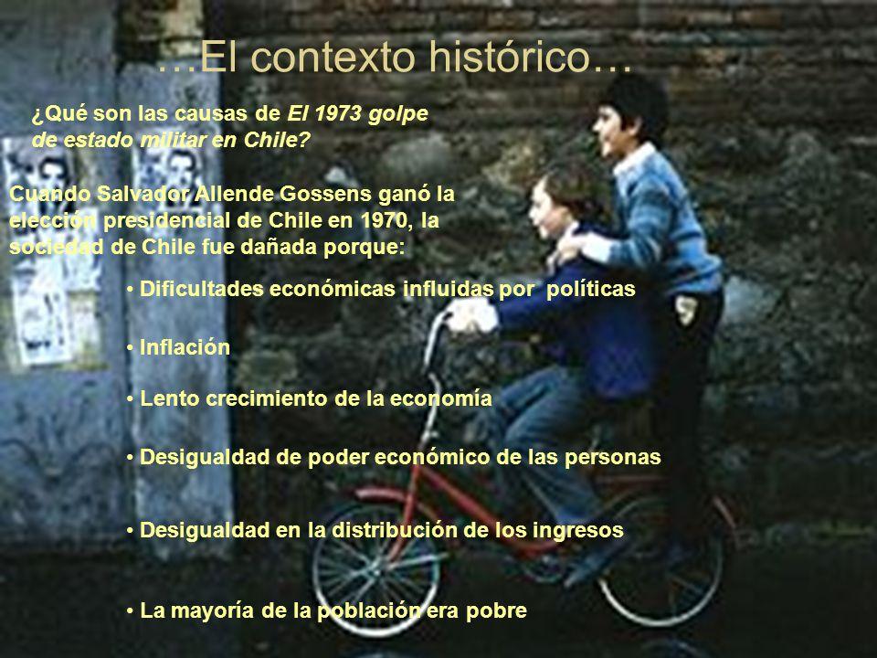 …El contexto histórico…