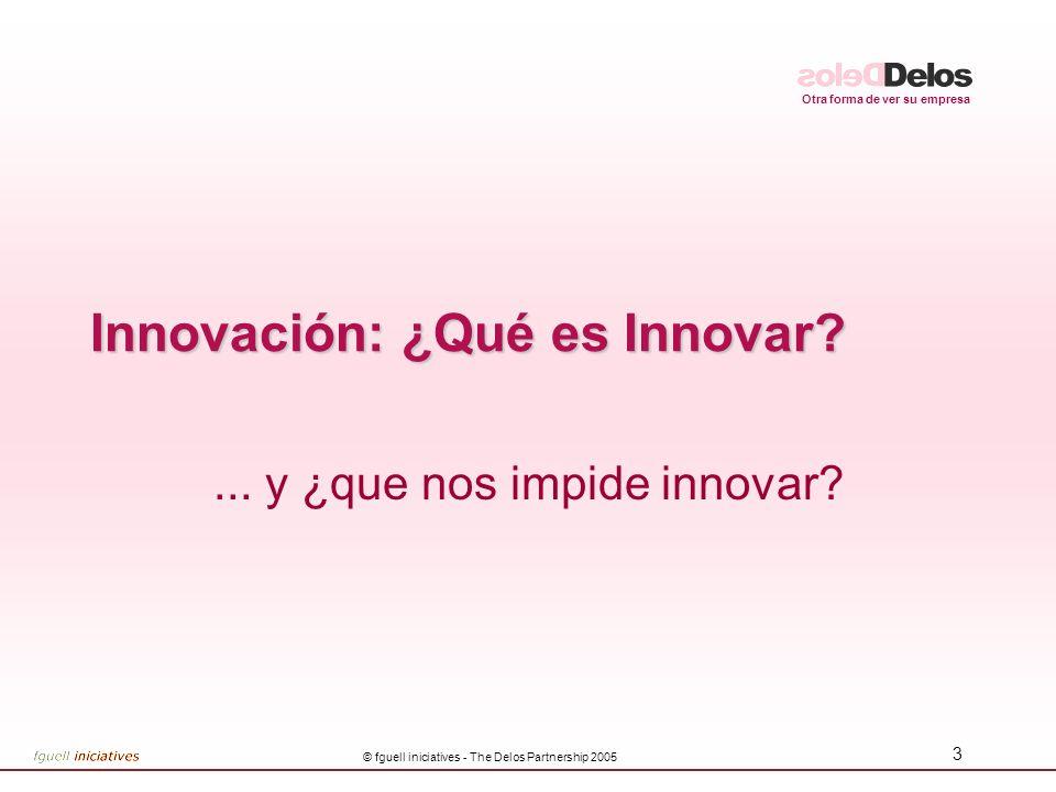 Innovación: ¿Qué es Innovar