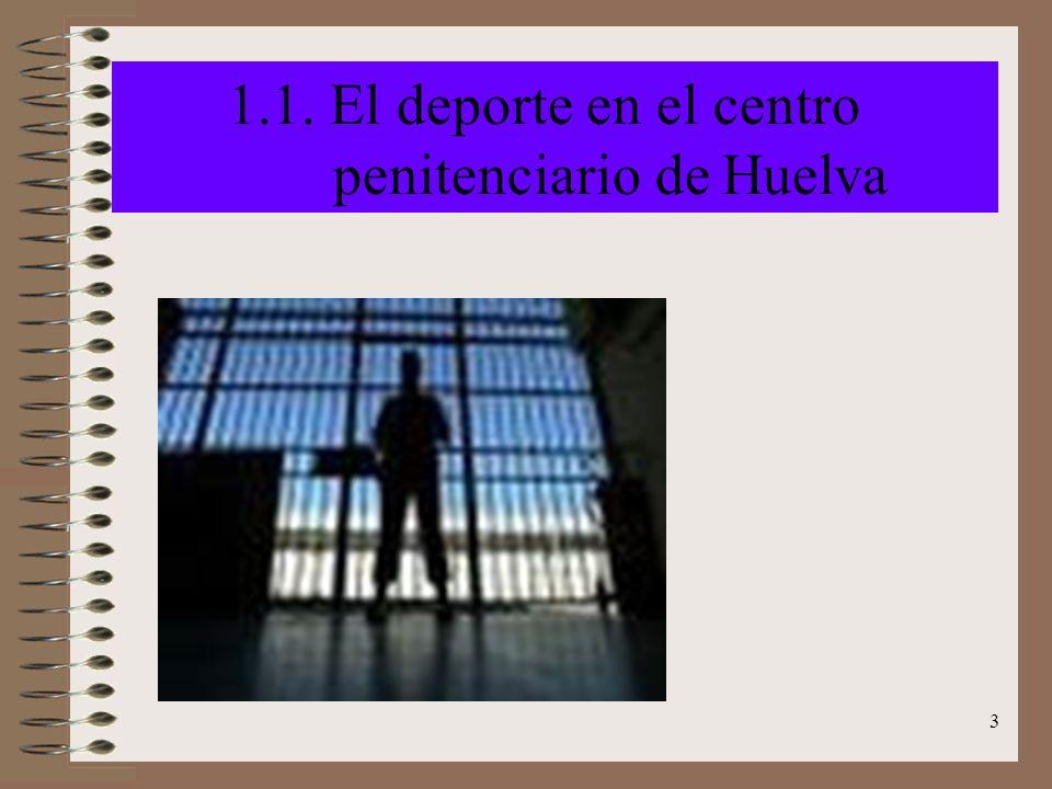 1.1. El deporte en el centro penitenciario de Huelva