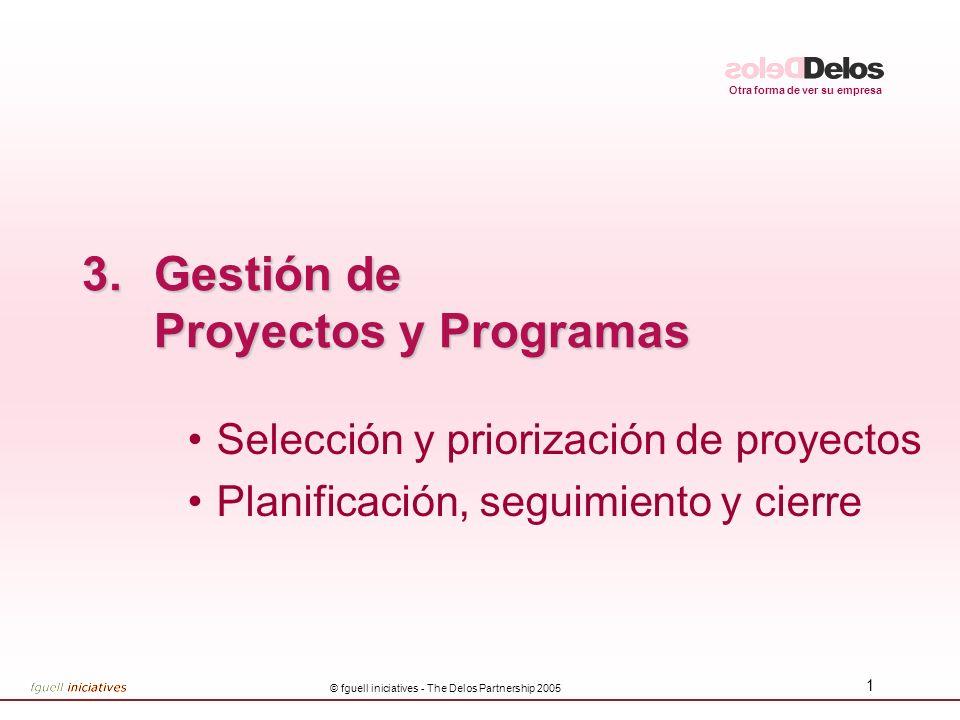 Gestión de Proyectos y Programas