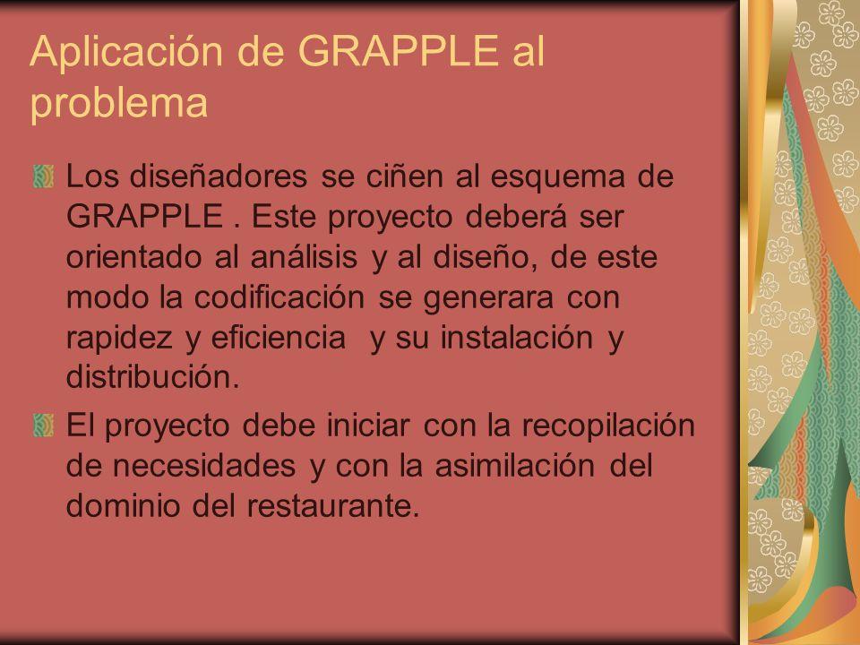 Aplicación de GRAPPLE al problema