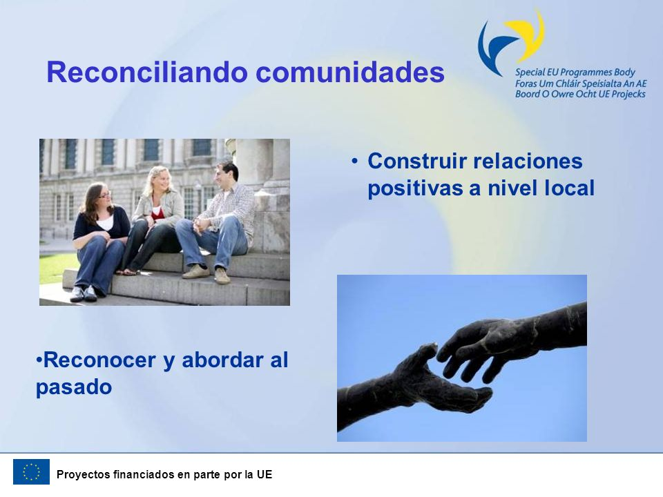Reconciliando comunidades