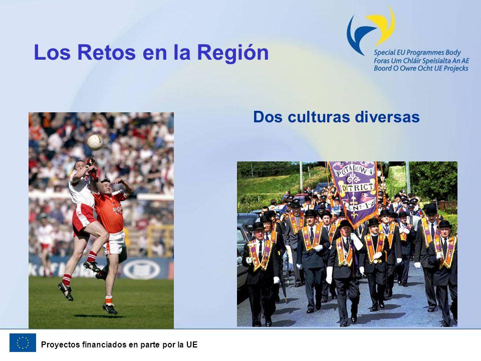 Los Retos en la Región Dos culturas diversas